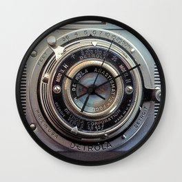 Detrola (Vintage Camera) Wall Clock