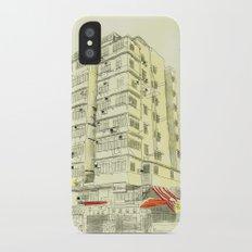 I Love Hong Kong Slim Case iPhone X