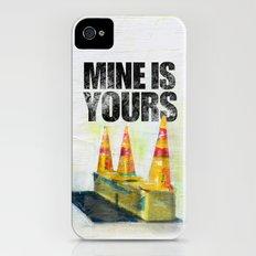 construction man on break iPhone (4, 4s) Slim Case