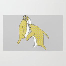 We're A Yellow Pair (Macaroni Penguins) Rug