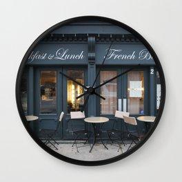 French Bakery 1 Wall Clock
