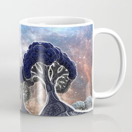Broccoli Planet in Winter Coffee Mug