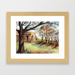 The Valley Garden, Harrogate Framed Art Print
