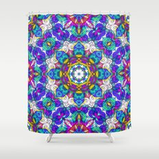 Drawing Floral Doodle G416 Shower Curtain