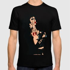 The Rocky Horror Picture Show - Dr. Frank-N-Furter Mens Fitted Tee MEDIUM Black