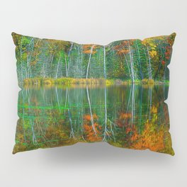 Forest and Lake Reflection Pillow Sham