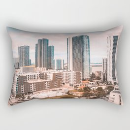 Biscayne Architecture Rectangular Pillow