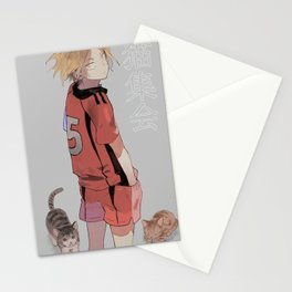 Kenma Haikyuu Stationery Cards