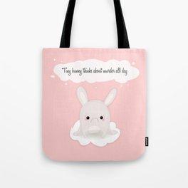 tiny bunny Tote Bag