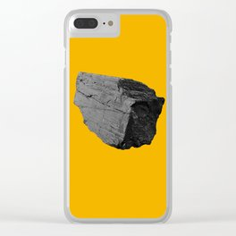 Yellow Boulder Clear iPhone Case