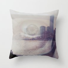 i line nyc... Throw Pillow