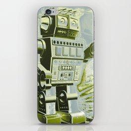 Robot Wars Pop Art iPhone Skin