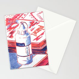 acrylic Stationery Cards