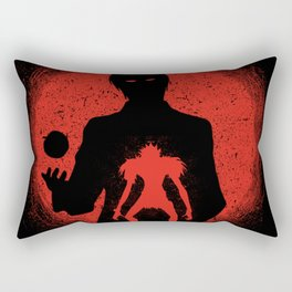 Red Light Ryuk Design Rectangular Pillow