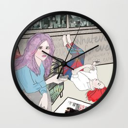 whatever forever Wall Clock