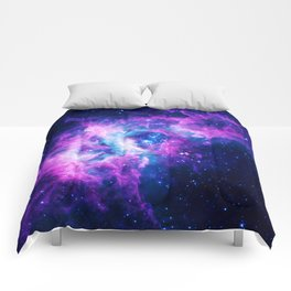 Dream Of Nebula Galaxy Comforters