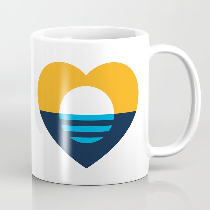 Heart of MKE - People's Flag of Milwaukee Coffee Mug