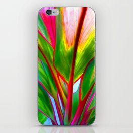 Ti Leaf Series #4 iPhone Skin