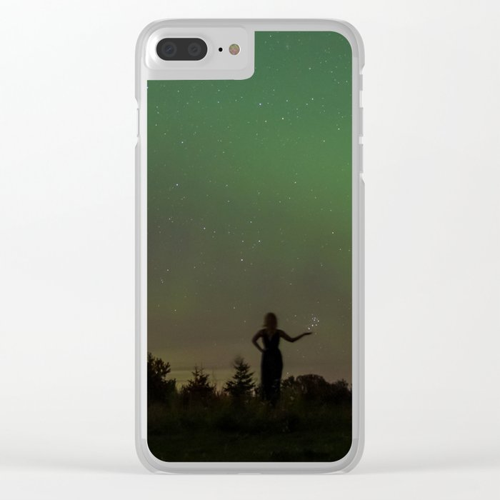 Starwoman Clear iPhone Case
