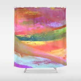 Inside the Rainbow 7 Shower Curtain