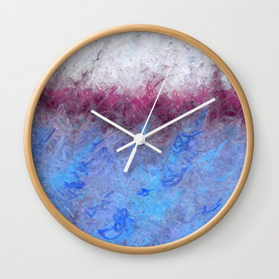 The Day's Deal With The Coming Night II Wall Clock