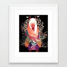 Fonder Framed Art Print