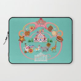 Cookies and Cream, Biscuits and Tea. Laptop Sleeve