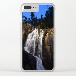 Nightfall Clear iPhone Case