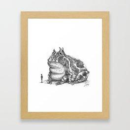 Tiddalik Framed Art Print
