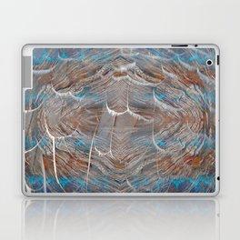 Vortex blue geometry V Laptop & iPad Skin