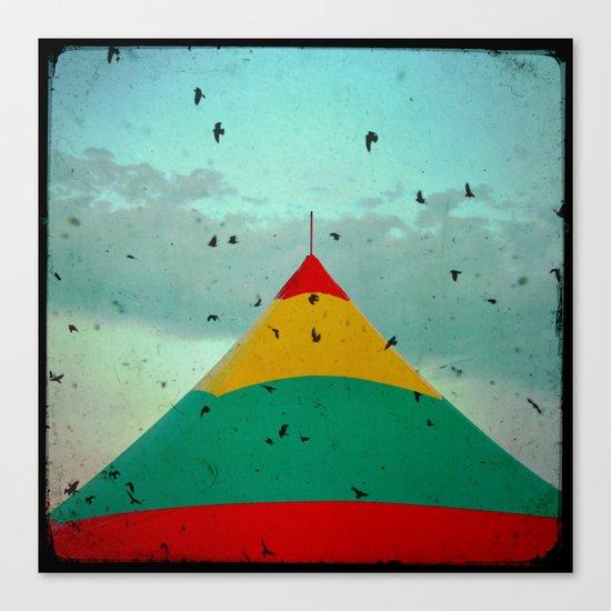 Circus Birds Canvas Print