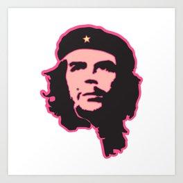 Che Guevara portrait fun Art Print
