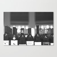 wine Canvas Prints featuring wine by Alyson Cornman Photography