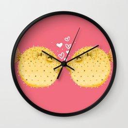 Puffer Love Wall Clock