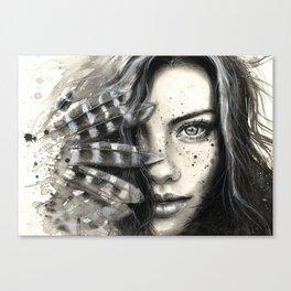 Freckly Canvas Print