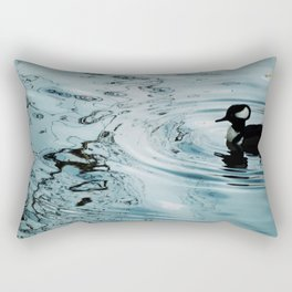 Duck Ripples Rectangular Pillow