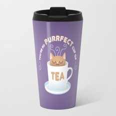You're my Purrfect Cup of Tea Cat Travel Mug