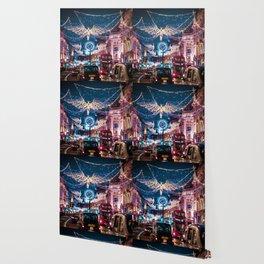 London Christmas Lights (Color) Wallpaper