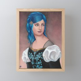Frederica of Vienwray Framed Mini Art Print