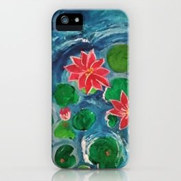 The Sunset Lake iPhone Case