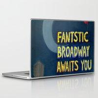 broadway Laptop & iPad Skins featuring Fantastic Broadway Awaits You by Aram Kim