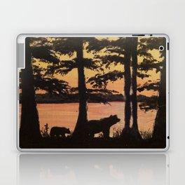 Bear and Cypress Sunset Laptop & iPad Skin
