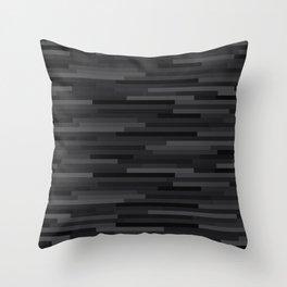 Black Estival Mirage Throw Pillow