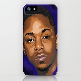 Kendrick Had a Dream. iPhone Case