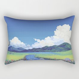 Stream Rectangular Pillow