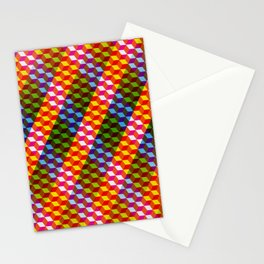 Shifting cubes Stationery Cards
