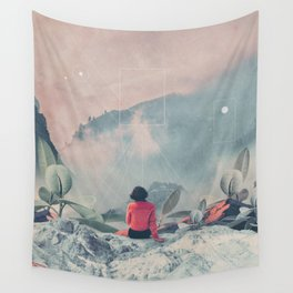 Lost in the 17th Dimension Wall Tapestry