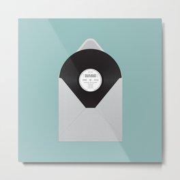 MP33⅓  Metal Print