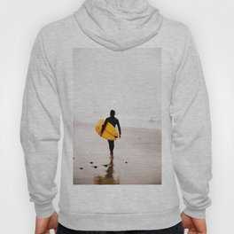 Yellow surf surfer Hoody