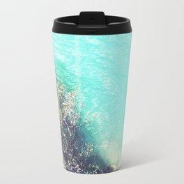 Turquoise Water Photo Travel Mug